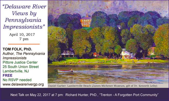 Delaware River Views by Pennsylvania Impressionists